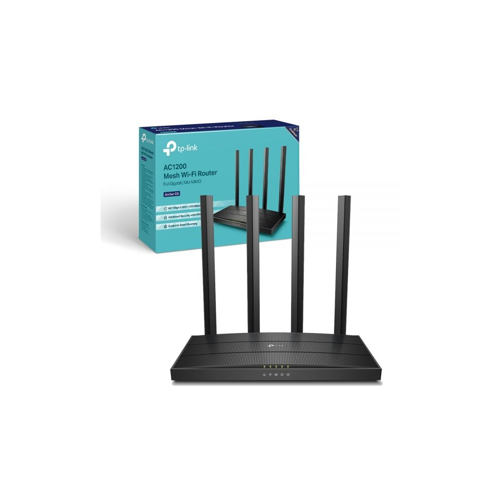 Roteador Wireless Archer C6 Dual Band AC1200 - TP-Link