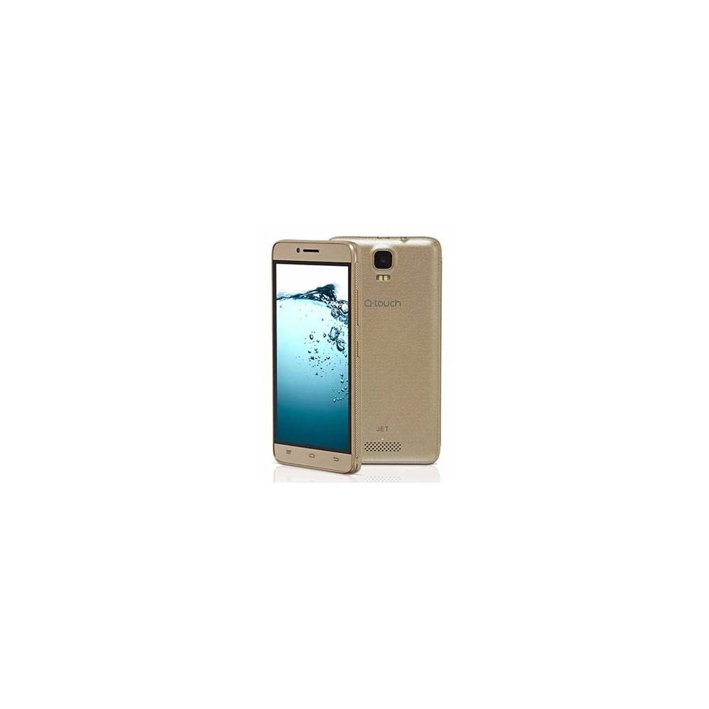Smartphone Jet Q01A Dourado, Android, 8GB, 8MP, Quad Core - Q-Touch