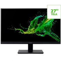 "Monitor V277 27"" Full HD LED IPS HDMI/VGA Preto - Acer"