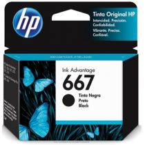 Cartucho de Tinta 667 Preto 2ml Original 3YM79AL - HP