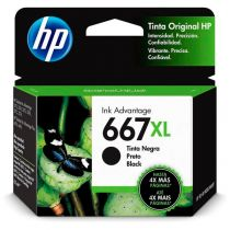 Cartucho de Tinta 667XL Preto Original 8,5ml  3YM81AL - HP