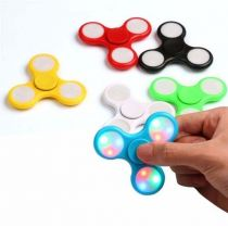 Hand Spinner Finger Anti Stress Ansiedade C/ Luz Led colorida