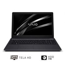 Notebook Vaio Fit 15S i5 8GB 1TB LED 15,6' Win10 Preto