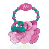 Mordedor Refrescante Com Gel Cool Rings Rosa BB167 Multikids