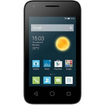 "Smartphone OneTouch Pixi 3 Preto Tela 3.5"", Dual Chip, 5MP, Android 4.4, 3G, Bluetooth, Dual Core - Alcatel"