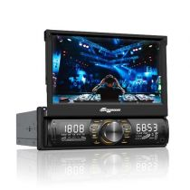 "Som Automotivo MTC6612 Bluetooth, Tela 7"" LED Touchscreen, FM, USB, SD - Aquarius"