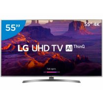 "Smart TV LED 55"" Ultra HD 4K 55UK6540PSB - LG"