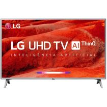 "Smart TV LED 50"" Inteligência Artificial 50UM7510PSB - LG"