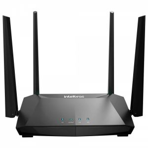 Roteador Wireless Action RG 1200 4 Antenas Preto - Intelbras
