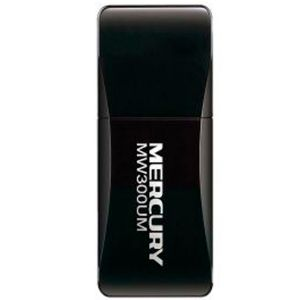 Adaptador USB Wireless N 300 Mbps Preto MW300UM - Mercusys
