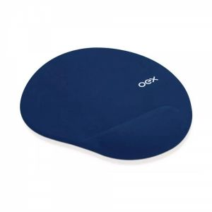 Mouse Pad Gel Azul Confort Mp-200 - Oex