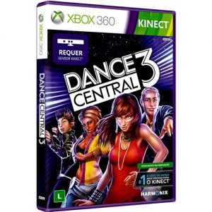 Game Dance Central 3 para Xbox 360 Requer Kinect - Microsoft