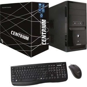 Computador Fastline Intel Core i3-7100, 4GB DDR4, HD 500GB, Linux - Centrium